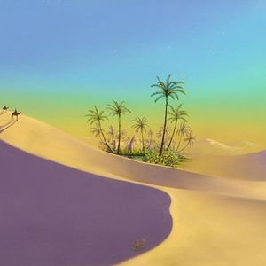 Escape to an oasis