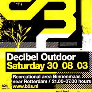 Cari Lekebusch @ Decibel Outdoor 2003
