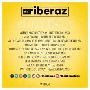 The Riberaz Weekly Top Ten 034