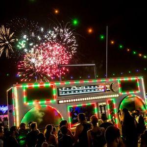 EDC Vegas 2015 - Boombox Set!
