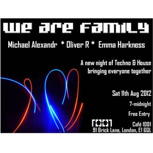 We Are Family @ Cafe 1001 - 11/08/2012