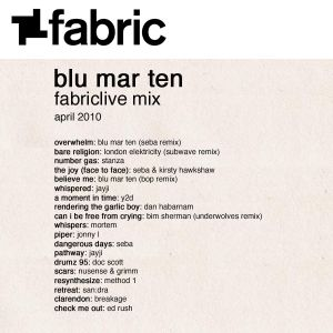 Blu Mar Ten - FabricLive Mix - April 2010