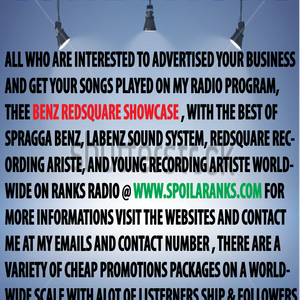 PT 11 OF THEE BENZ REDSQUARE SHOWCASE ON RANKS RADIO WITH DJ DUGGY BENZ FROM LABENZ SOUND
