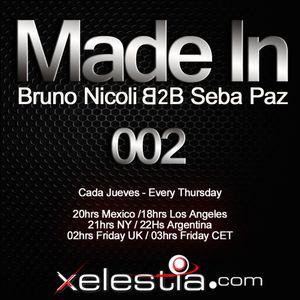 Bruno Nicoli&Seba Paz @ Made In RadioShow 002