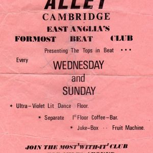 The Alley Club Mods Radio Show on Cambridge 105 - 8th May 2016