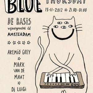 Blue Thursday guest mix by Mark van de Maat