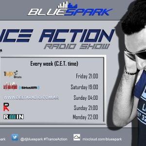 Dj Bluespark - Trance Action #323