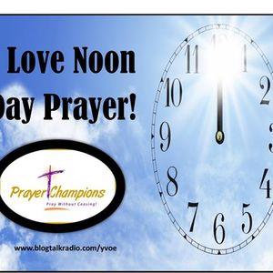#3 Prayer Champions' Broadcast – Pray Today