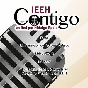IEEHContigo 22/Nov/2013 La transición del voto en Hidalgo