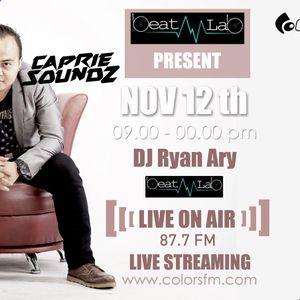 [Podcast] DJ Caprie Soundz live on Beat Lab