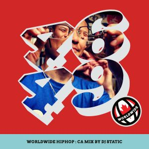 WorldWide HipHop: CA Mix by DJ Static