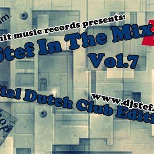 DjStef In The Mix  Vol.7-2012-Special Dutch Club Edition