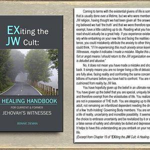 BTR Guest former Jehovah's Witness now Author & Psychotherapist Bonnie Zieman