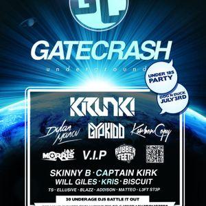 Gatecrash Underground Mixtape feat. Blazz