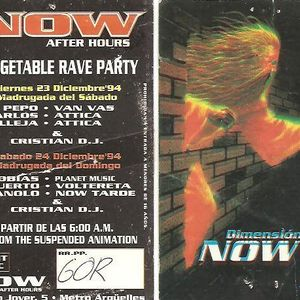 Cristian Varela @ Now, Fiesta de Nochebuena, Madrid (1994)