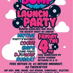 Bump @Plan B Launch Mix by DJ CWD