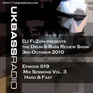 Ep. 019 - Mix Sessions, Vol. 3 - Hard & Fast Pt. 1