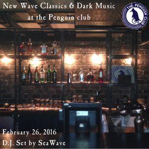 New Wave / Dark set at the Penguin Club, Feb 26, 2016