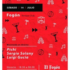 Luigi Gucia @ Terraza Fogon 14 Julio 2k18