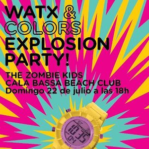 The Zombie Kids / live from Watx & Colors Party @ Cala Bassa Beach Club / 22.07.2012 / Ibiza Sonica