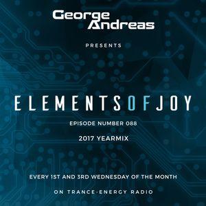 George Andreas - Elements of Joy 088 (2017 Yearmix)