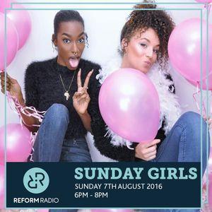 Sunday Girls 7th August 2016