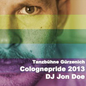 DJ JON DOE @ COLOGNEPRIDE 2013, TANZBÜHNE