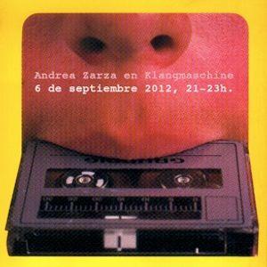 Andrea Zarza (DJ set) @Klangmaschine (06/09/12)