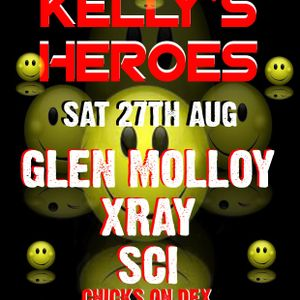 X-ray Live @ Kellys Heroes (Quest Belfast)