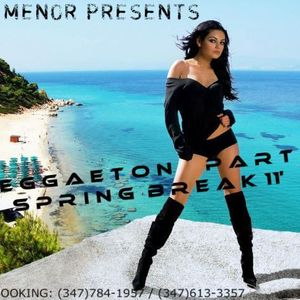 DJ MENOR - REGGAETON SPRING BREAK EDITION 11'