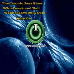 Cosmic Jazz with Derek and Neil on IO Radio 120717