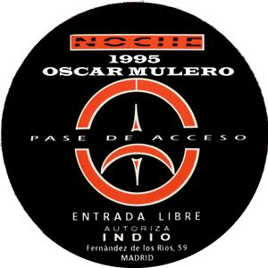 Oscar Mulero - Live @ The Omen, Madrid (1995) Cassette INEDITO - Ripped;POLACO MORROS & BAFOMEVS