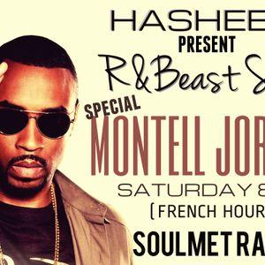 Hasheem presente R&Beast Show Special Montell Jordan sur Soulmet Radio