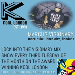 Marcus Visionary - The Visionary Mix Show 051 - Kool London - Tues Sept.19th 2017
