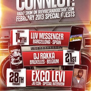 EPISODE # 77 CONNECT! RADIO SHOW_14.02.2013_Special Guest LUV MESSENGER (SPAIN) WWW.BALOOBASOUND.COM