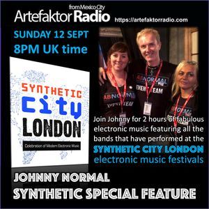AR146 THE JOHNNY NORMAL SYNTHETIC CITY LONDON SPECIAL FEATURE