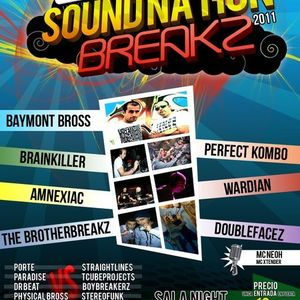 Physical Bross vs StereoFunk @ Sound Nation Breakz [9-4-11] (Sala Night) (La Palma del Cdo, Huelva)