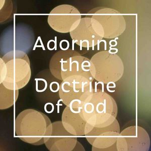 Adorning the Doctrine of God - Audio
