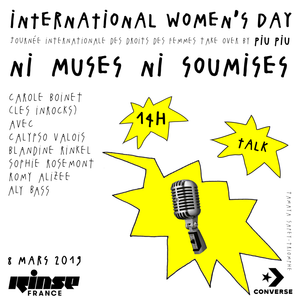 Women's Day Take Over : Ni Muses Ni Soumises - 08 Mars 2019