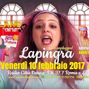 IndieLand  @Lapingra #live #unplugged & @AndreaScanzi #IvanGraziani