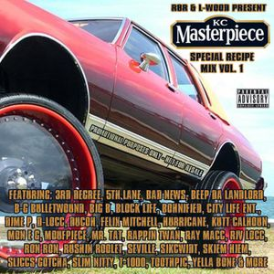 R8R & L-wood Present KC Master Piece - Special Recipe Mix Vol.1