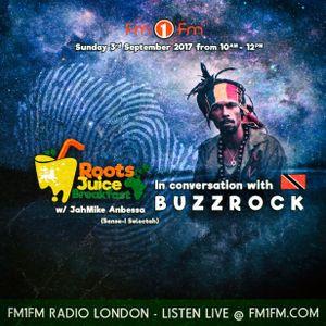 03.09.17 / In Conversation w/BuzzRock / Roots Juice Breakfast