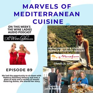 Episode 89: Marvels Of The Mediterranean Cuisine! Rebecca Amoury, Raphael Pommier, Yvonne Robinson