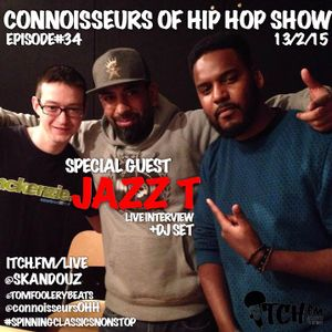 SKANDOUZ & Tom Foolery Beats - Connoisseurs Of Hip Hop 34 - Jazz T