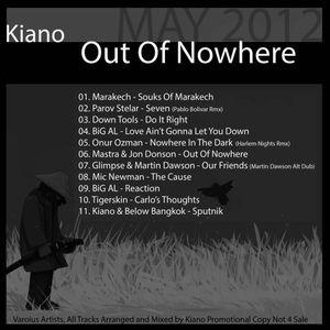 Kiano - Out Of Nowhere Promo Mix 05.2012