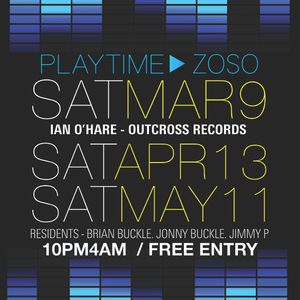 Playtime March 9th!!!