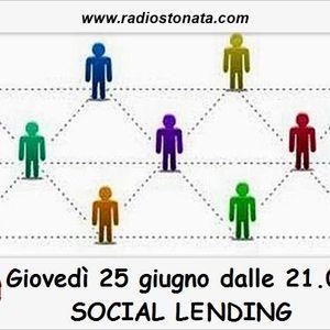 Crowdfunding. Lending. Sociallendinitalia. italianlending. 25.06.2015