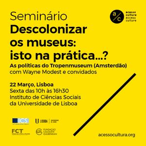 Descolonizar os museus: isto na prática…? (Debate) - parte 3