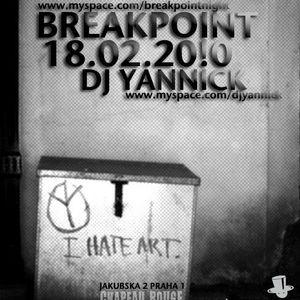 dj yannick live@chapeau rouge 18.2.2010 I.