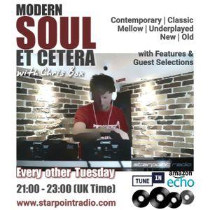 HOUR 1, 13/8/2019, Modern Soul Et Cetera on Starpoint Radio